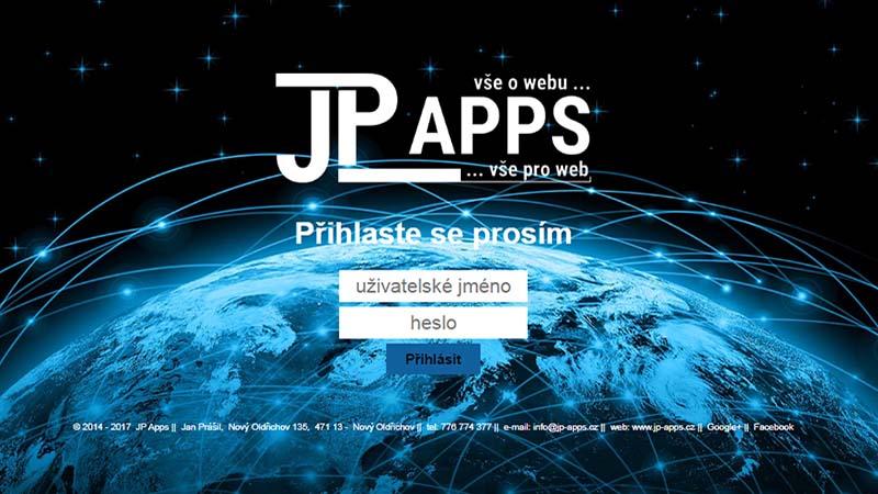 Portfolio JP Apps - (produktové listy)