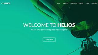 Šablona webu Helios