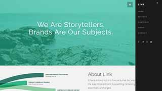 Šablona webu Link