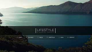 Šablona webu Live Style