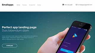 Šablona webu Small Apps